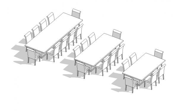 This Is A Good Example Ive Created Last Year Uploaded To Revit City If You Change The Length Of Table